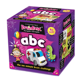 BrainBox My First ABC Card Game, 4yrs+