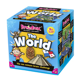 BrainBox The World Card Memory Game, 8yrs+
