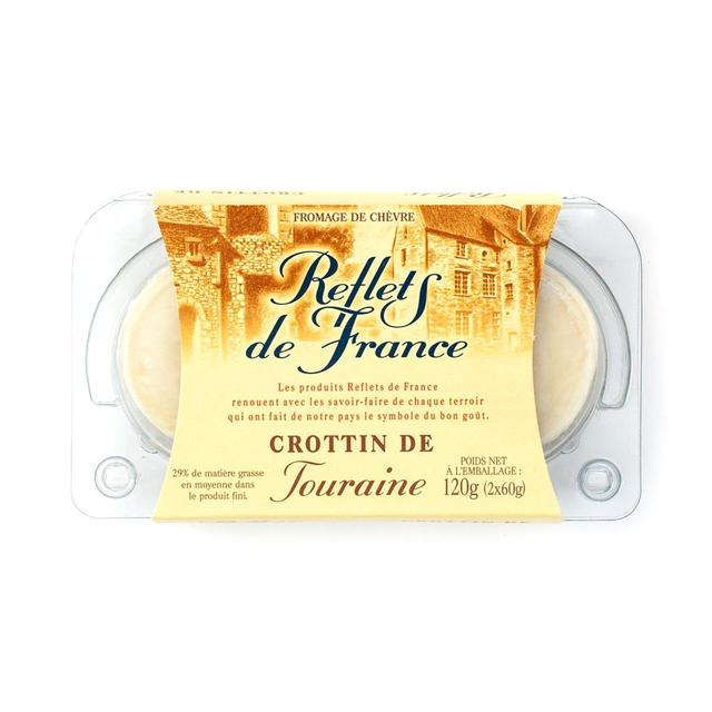 Reflets de France Crottin de Touraine Goats Cheese