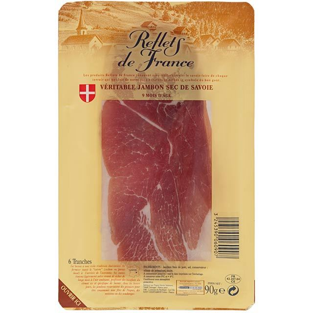 Reflets de France 6 Slices Savoie Cured Ham