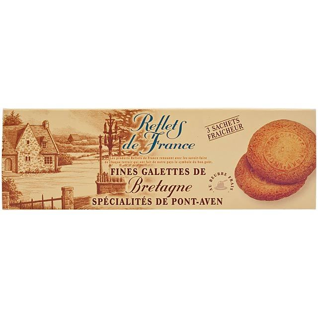 Reflets de France Galette Butter Biscuits from Brittany