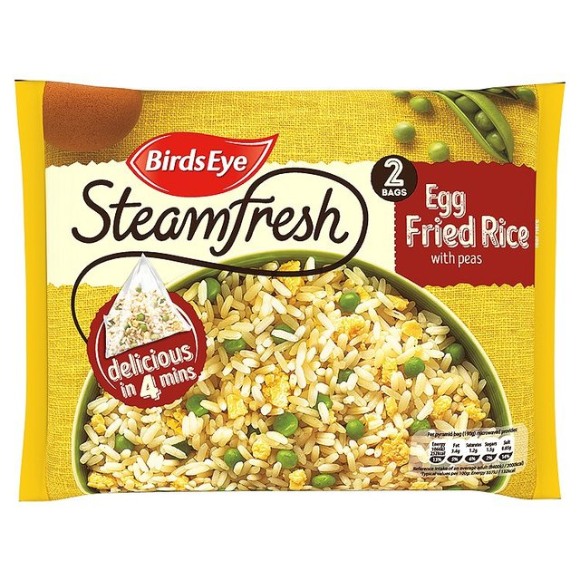 Birds Eye 2 Egg Fried Rice With Peas Frozen