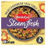 Birds Eye Steamfresh 2 Rice Mediterranean Vegetable Frozen