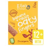 Ella's Kitchen Organic Bananas & Raisins Oaty Fingers