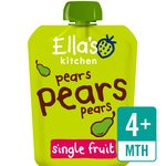 Ella's Kitchen Organic Smooth Pear Puree