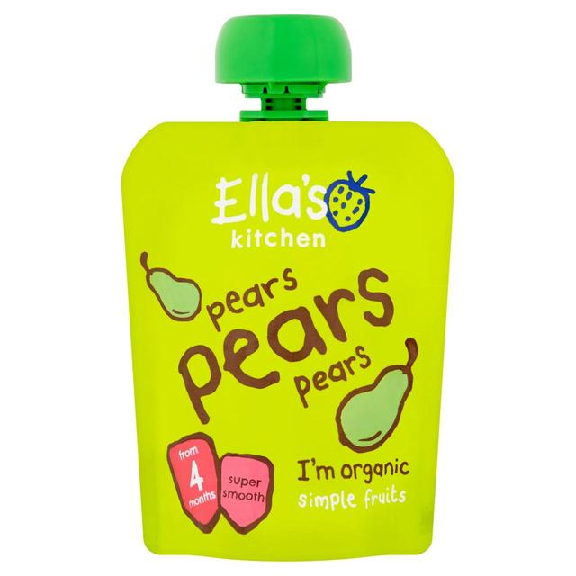 Ella Kitchen: Ella's Kitchen Organic Smooth Pear Puree 70g From Ocado