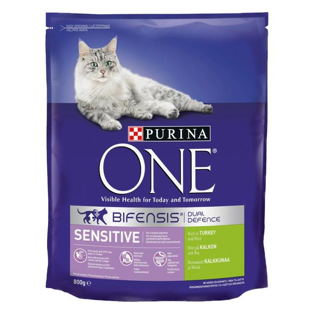 Purina One Sensitive Cat Turkey & Rice