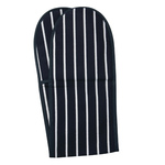 Classic Butcher's Stripe, Double Oven Glove, Navy