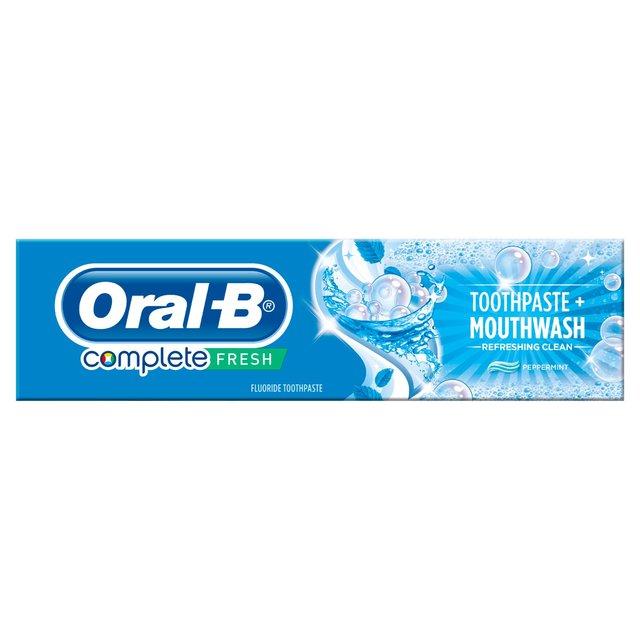 Oral-B Toothpaste Complete Toothpaste & Mouthwash | Ocado