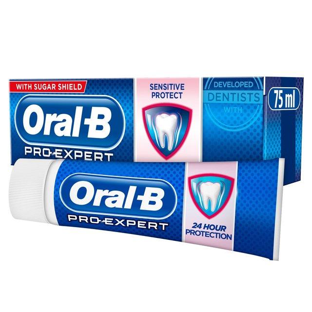 Oral-B Toothpaste Pro-Expert Sensitive & Whitening | Ocado