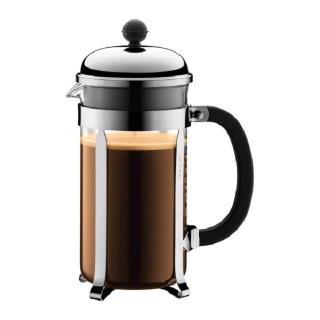 bodum chambord cafetiere 8 cup from ocado. Black Bedroom Furniture Sets. Home Design Ideas