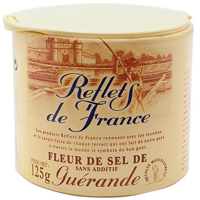 reflets de france fleur de sel sea salt 125g from ocado. Black Bedroom Furniture Sets. Home Design Ideas
