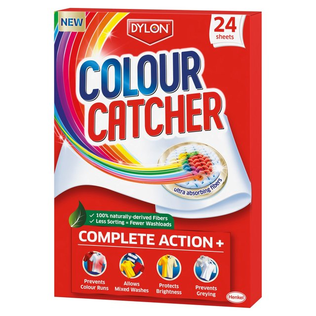 Dylon Colour Catcher Sheets 24 per pack from Ocado