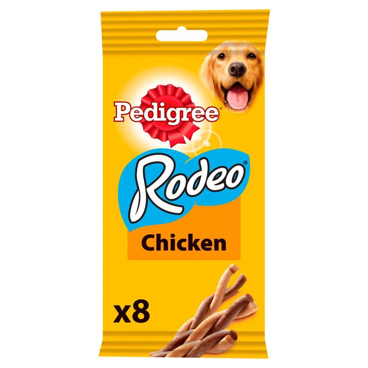 An image of Pedigree Rodeo Dog Training Treats Chicken