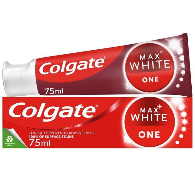 Colgate Max White One Whitening Toothpaste ...