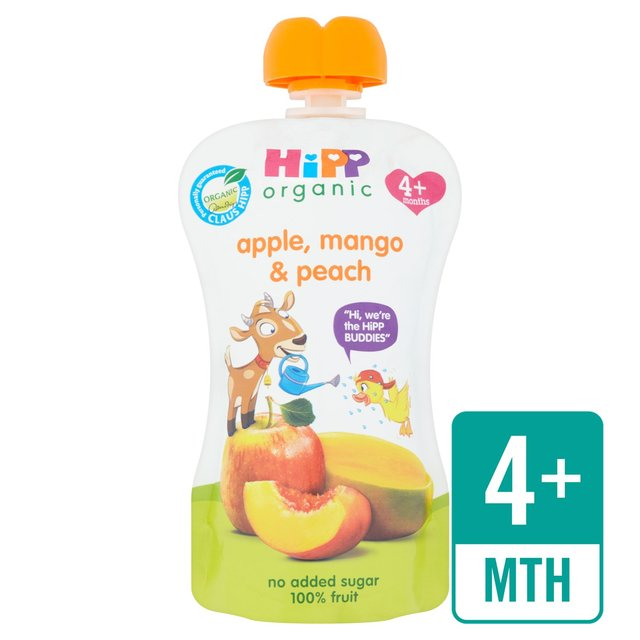 HiPP Organic Mango, Apple & Peach