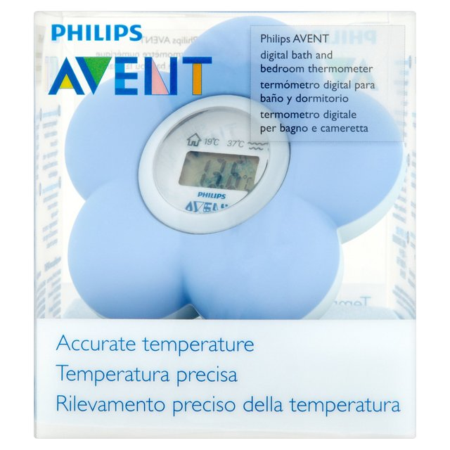 Avent Blue Bathroom Thermometer from Ocado