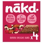 Nakd Free From Berry Delight Multipack