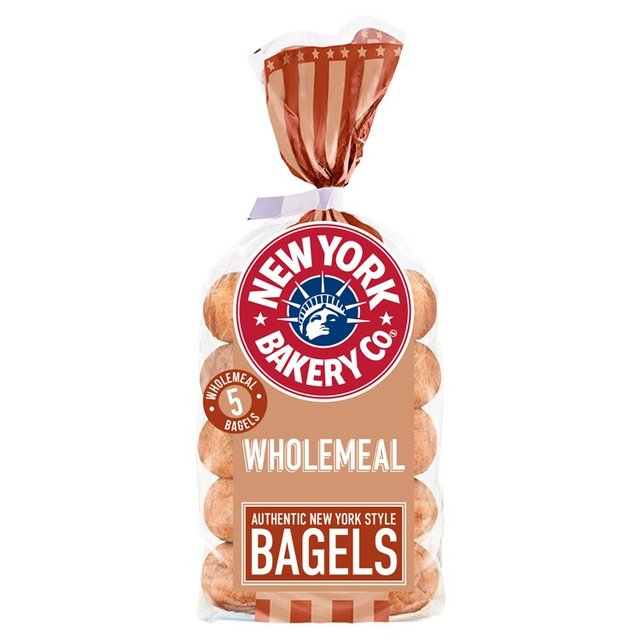 New York Bakery Co. Wholemeal Bagels