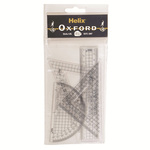 Helix Oxford Geometry Plastics 15cm
