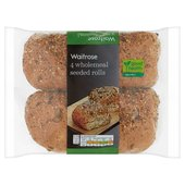 Waitrose Love Life Wholemeal Seeded Roll