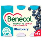 Benecol Cholesterol Lowering Yogurt Drink Blueberry