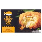 Saucy Fish Co. 2 Smoked Haddock & Cheddar Fishcakes