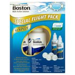 Boston Simplus Multi Action Solution for RGP Lenses Flight / Travel Pack