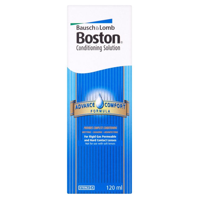 Boston Conditioning Solution for RGP Lenses