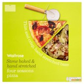 Waitrose Italian Style Four Seasons Pizza
