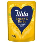 Tilda Steamed Basmati Lemon & Herb