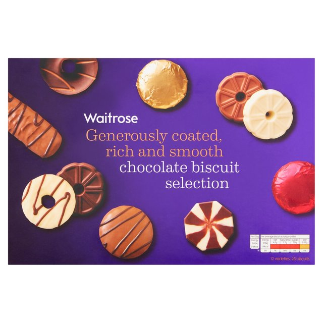 Waitrose Christmas Chocolate Biscuit Selection