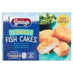 Young's 12 Fish Cakes Frozen