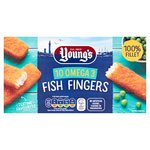 Young's 10 Omega 3 Fish Fingers Frozen