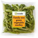 Ocado Family Size Green Vegetable Medley