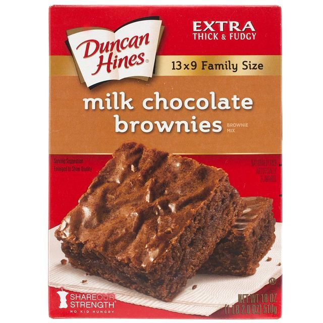Duncan Hines Milk Chocolate Brownies