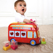 ELC Shape Sorting Bus 6 mnths+