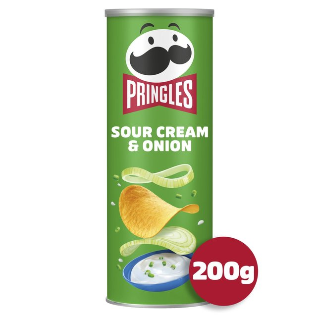 Pringles Sour Cream & Onion 200g from Ocado