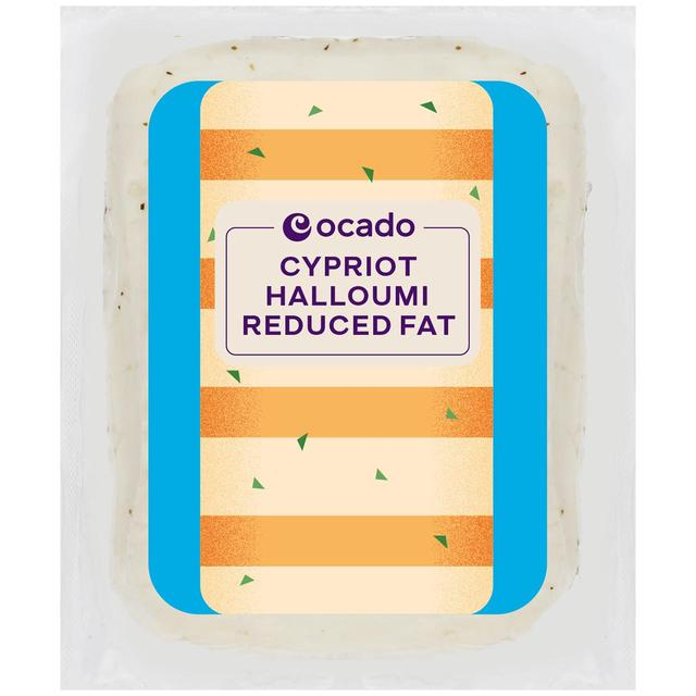 Ocado Cypriot Halloumi Reduced Fat
