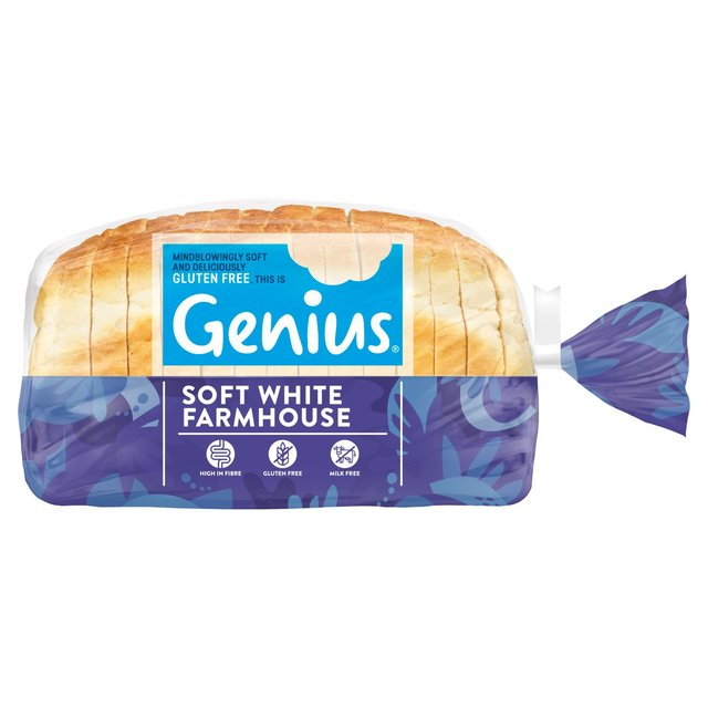Genius Gluten Free White Sliced Bread