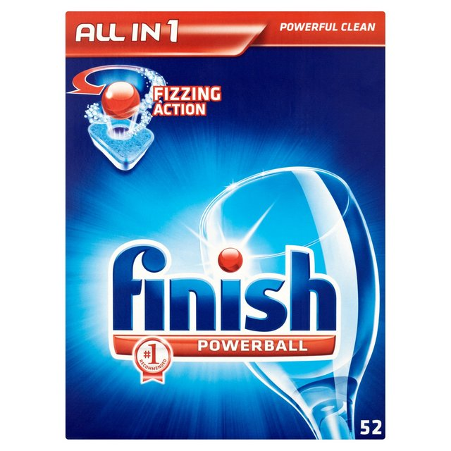 Finish All in One Dishwasher Tablets Regular