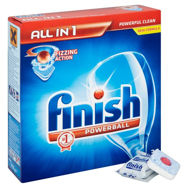 Finish All in One Dishwasher Regular Tablets