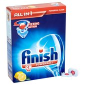 Finish All in One Dishwasher Tablets Lemon