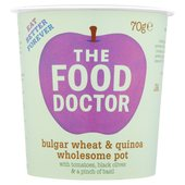 The Food Doctor Wholesome Pot Bulgar Wheat & Quinoa
