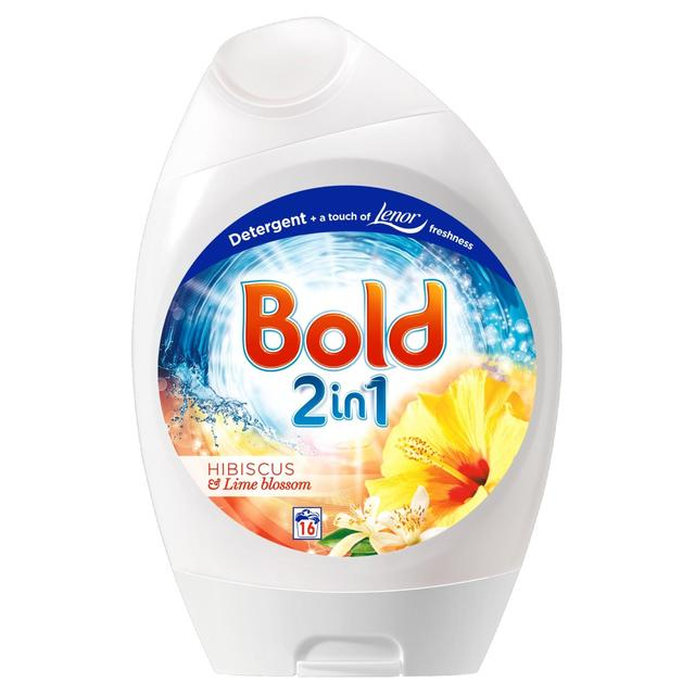 Bold 2in1 Bio Washing Gel Hibiscus & Lime Blossom 16 Washes