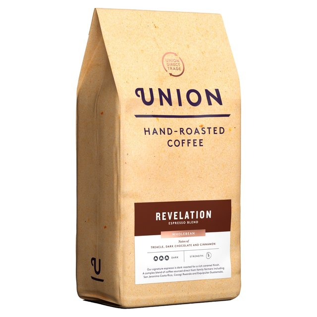 Union Revelation Blend Wholebean Coffee