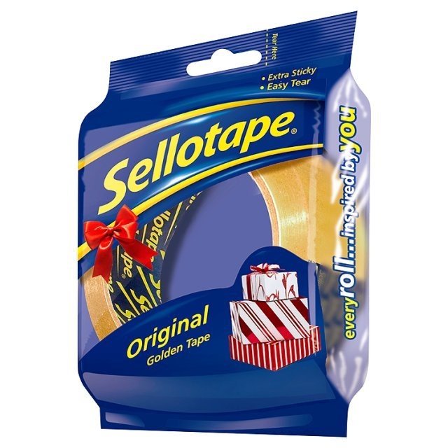 Sellotape Golden 24mm x 50m Limited Edition