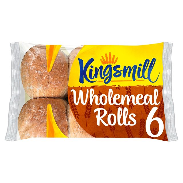 Kingsmill Tasty Wholemeal Rolls