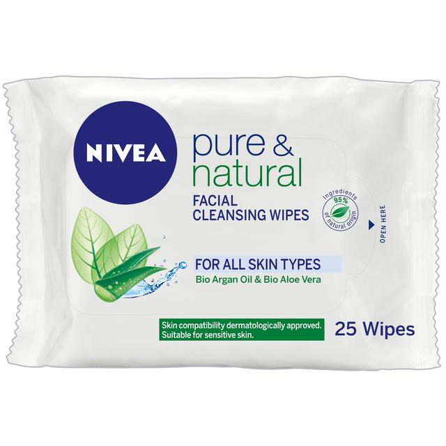 NIVEA Face Cleansing Wipes Pure & Natural