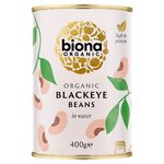 Biona Organic Blackeye Beans in Water